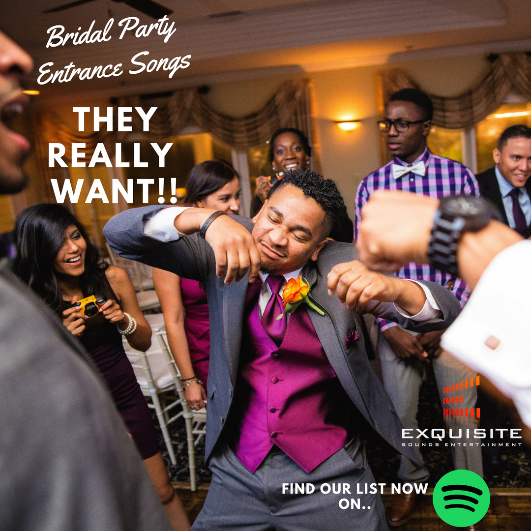 Bridal Party Entrance Songs They REALLY Want!!